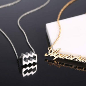 Jewelry - Aquarius Zodiac Constellation Necklace